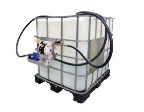 Chuyển và phân phối dầu thải diesel