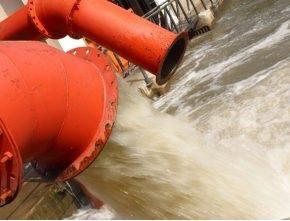 Khai thác mỏ - Chuyển nước thải